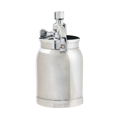 IWATA - 2SPRAY SUCTION POT 1 LITRE ALUMINIUM WITH 3/8 FITTING