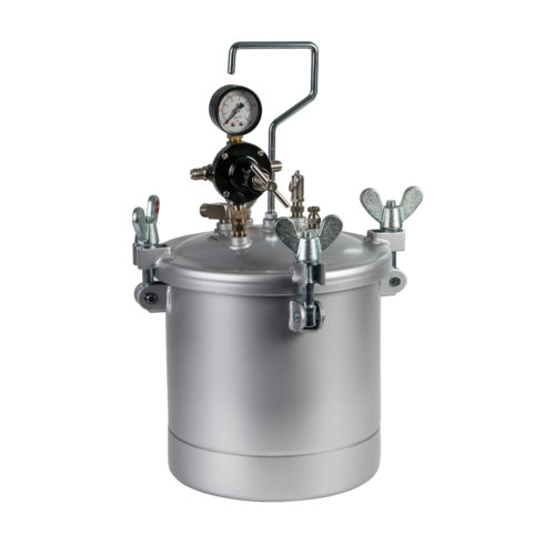 IWATA - 2SPRAY PRESSURE POT - 10L POT AND GAUGES ONLY