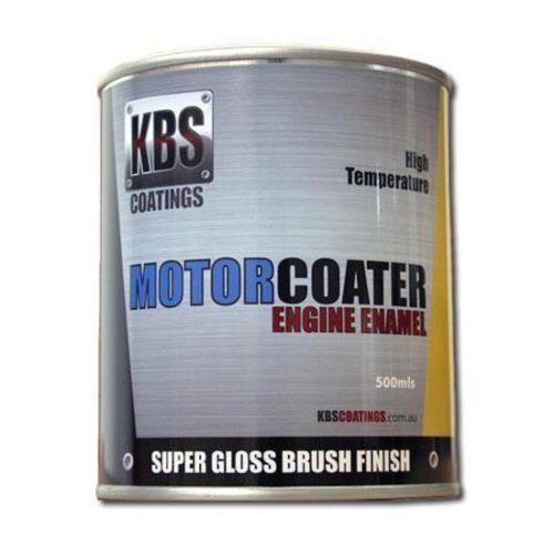 KBS - ENGINE ENAMEL 500ML MOTORCOATER CHEVY ORANGE