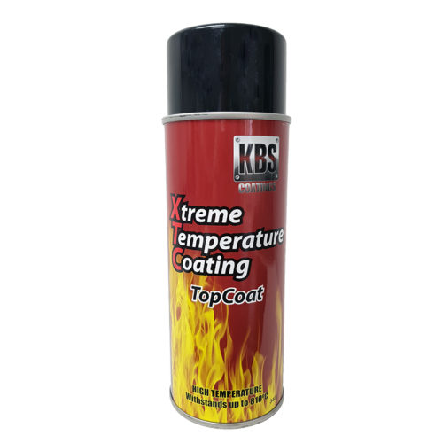 KBS - KBS XTREME TEMPERATURE COATING AEROSOL FIRE BLUE 350ML
