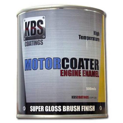 KBS - ENGINE ENAMEL 500ML MOTORCOATER DARK GREY
