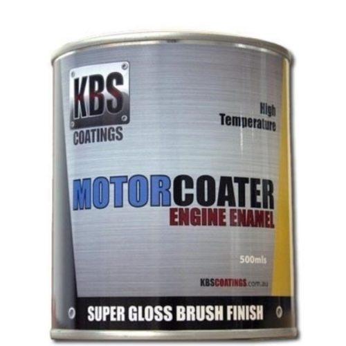 KBS - ENGINE ENAMEL 500ML MOTORCOATER HOLDEN BRIGHT RED