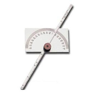 Groz Pdg/R6 Depth Gauge / Protractor (Rectangle)