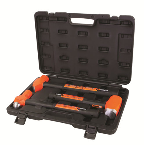 Groz 3pc Indestructible Handle Hammer Kit (2)
