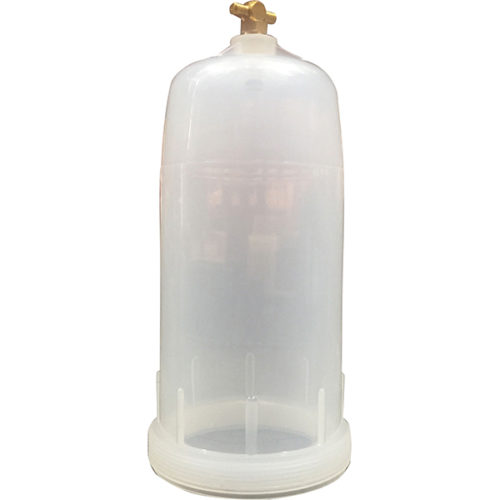 Groz Polypropylene Filter Bowl Only