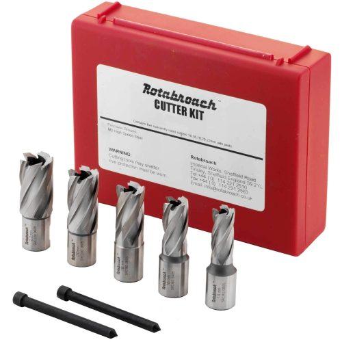 Rotabroach 5pc Short Cutter Set (14 16 18 20 and 22mm)