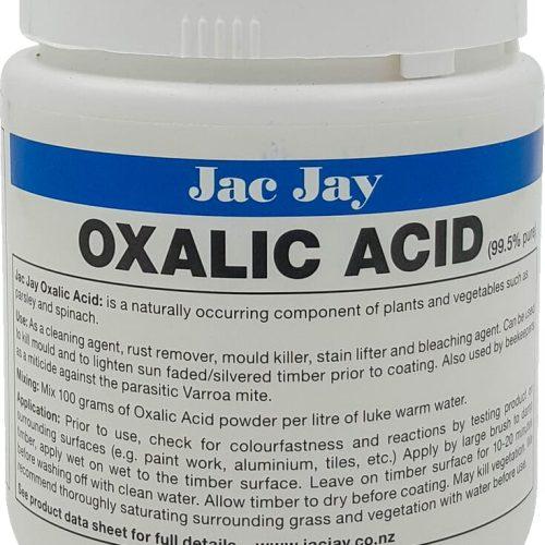 Jac Jay Oxalic Acid 500G