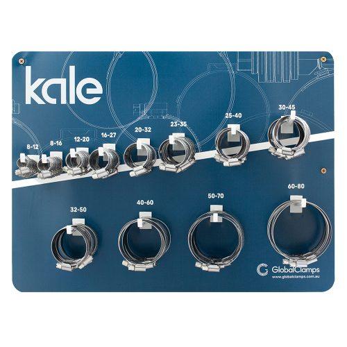 Kale 102pc Wall Merchandiser w/Stock WD 9/12mm W4