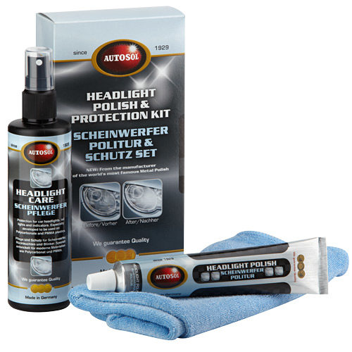 000008 Headlight Protection Care Kit (3pc)