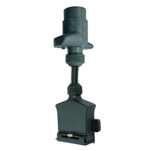 LED ADAPTOR 7-PIN ROUND SOCKET TO 7-PIN FLAT PLUG