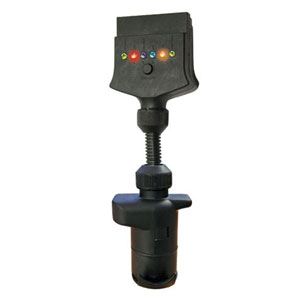 LED ADAPTOR 7-PIN FLAT SOCKET TO 7-PIN ROUND PLUG