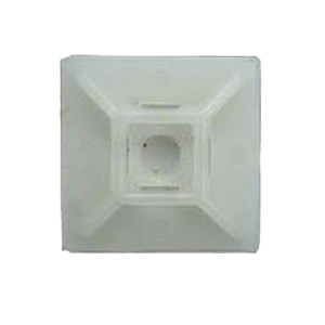 ISL 19 x 19mm Cable Tie mounting Base - Natural - 100pk