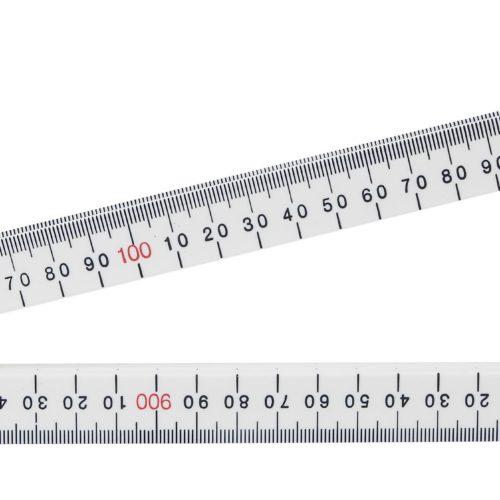 Crescent Lufkin Folding Rule Bevelled Edge 1m