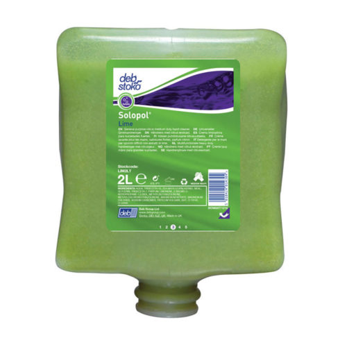 Deb|Stoko Solopol Lime - 2L Cartridge