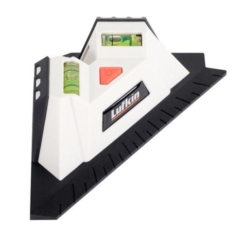 Crescent Lufkin Level Laser Square Ruler
