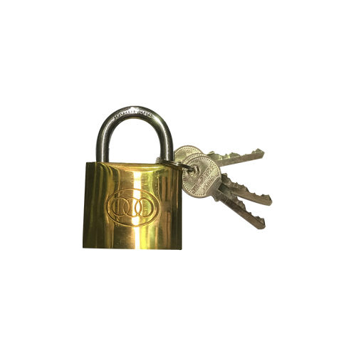 266 Brass Padlock 63mm Boxed