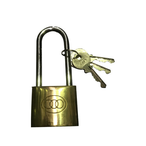 L263 Brass Padlock Long Shackle 32mm Boxed