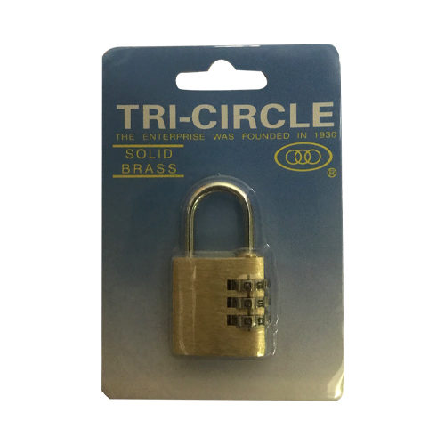 KD-T1030 Combination Padlock 30mm  1 per Card