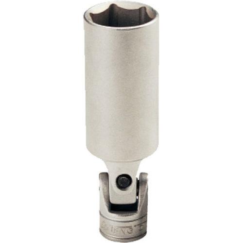 Teng 3/8in Dr. Uni-Joint Spark Plug Socket 16mm