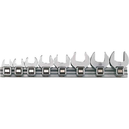 Teng 8pc mm Crowfoot Wrench Set 10-19mm