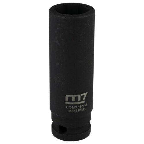 M7 Deep Impact Socket 1/2in Dr. 18mm