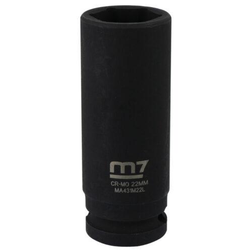 M7 Deep Impact Socket 1/2in Dr. 22mm