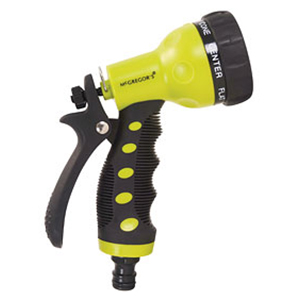 McGregor's 7 Pattern Plastic Ergo Water Spray Gun