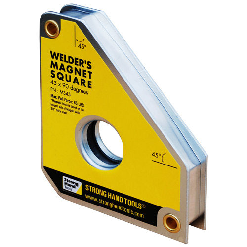 MS45 Standard Magnet Square 111 x 95 x 19mm 30kg Pull Force