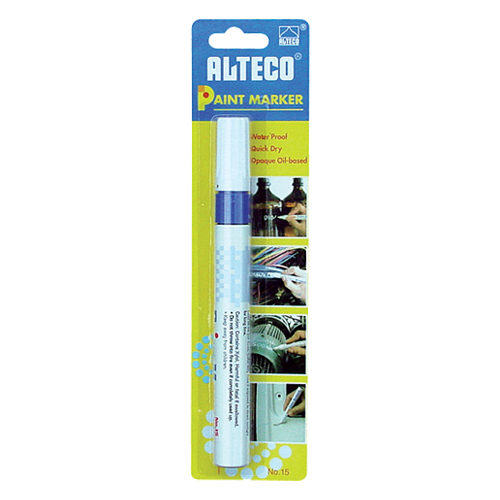 Paint Marker Blue Blister Pack  (Xylene Based)