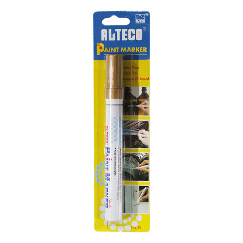 Paint Marker Gold Blister Pack (Xylene Based)