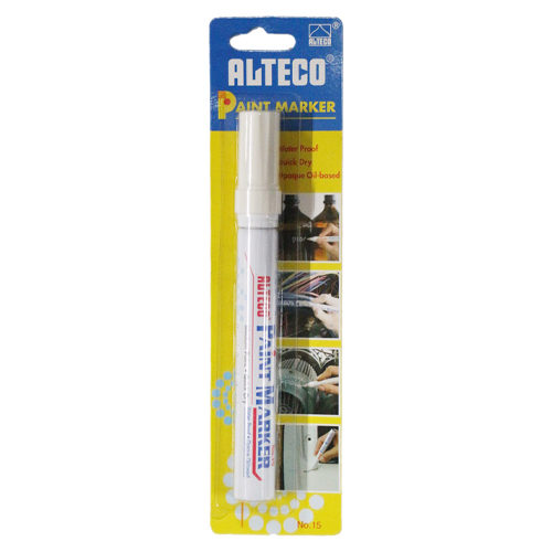 Paint Marker White Blister Pack  (Xylene Based)