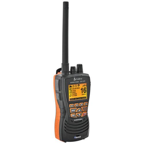 Cobra Floating VHF Radio w/Bluetooth & GPS 6 Watt
