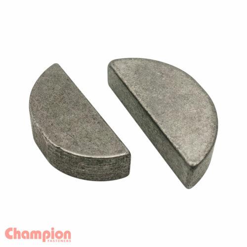 Champion 3mm x 19mm Woodruff Key - 25pk