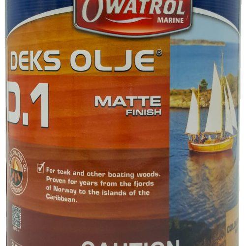 Owatrol Deks Olje #1 Saturator 2.5L