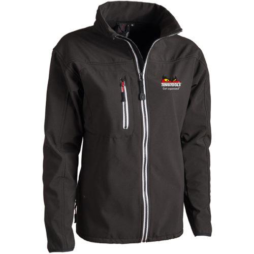 Teng Soft-shell Jacket (Black) - Lrg