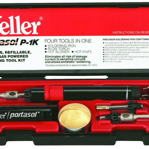 Weller Portasol Butane Gas Powered Soldering Kit