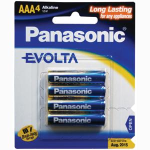 Panasonic AAA Battery Evolta Alkaline (4pk)