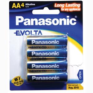 Panasonic AA Battery Evolta Alkaline (4pk)