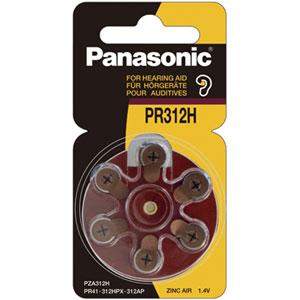 PANASONIC 1.4V PR41 ZINC AIR HEARING AID BATTERY