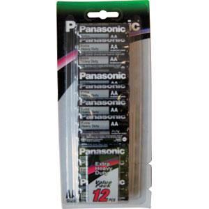Panasonic AA Battery Extra Heavy Duty (12pk)