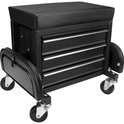 ProEquip 3 Drawer Rolling Mechanics Seat