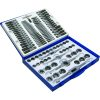 ProEquip 110pc UNC/UNF/Metric Tap & Die Set