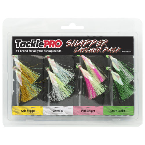 TacklePro Snapper Catcher Four Pack - 7/0