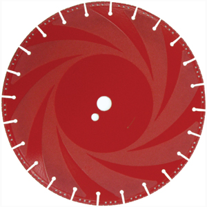 DIAMOND CUT OFF DISC 350X25 ( RESCUE BLADE )