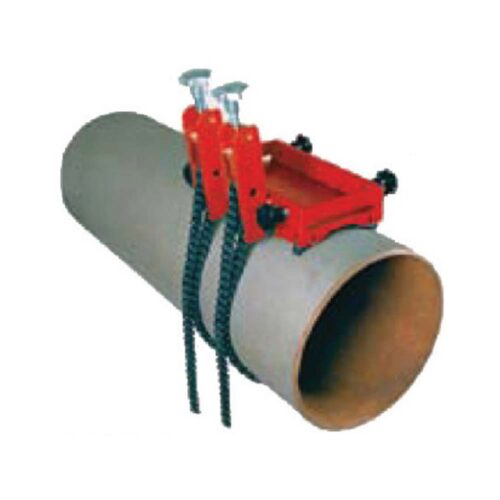 Holemaker Mag. Base Machine Pipe Attachment Double Chain
