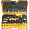 "057 R-GO XL Ergonic Socket & Bit Set 1/4""Dr 36pc"