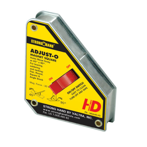 Stronghand Adjust-O Magnet Square Heavy Duty 75KG