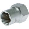 Teng 1/2in Dr. Stud Extractor Socket 22mm (7/8in)