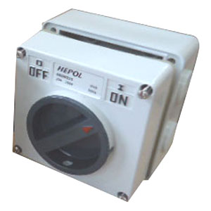 20A 2 Pole 250V Surface Switch Module IP66**