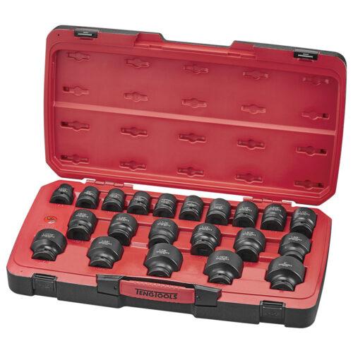 Teng 23pc 3/4in Dr. AF Reg. Impact Socket Set 6-Pnt